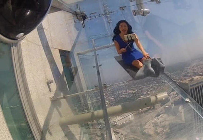 "На 70-м этаже небоскреба установили аттракцион <span class=""color_red"">- ВИДЕО</span>"