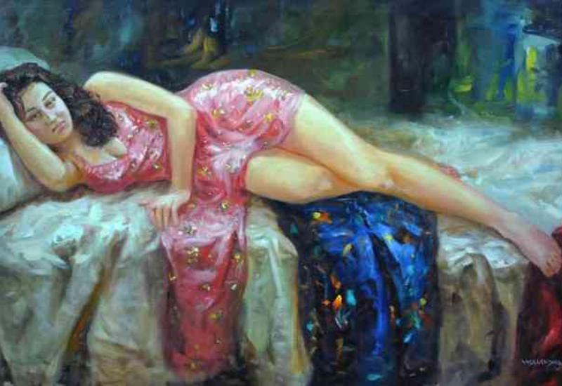 """""""Картинная галерея"""" Day.Az: Комбинация индийской и западной живописи <span class=""""color_red"""">- ФОТО</span>"""