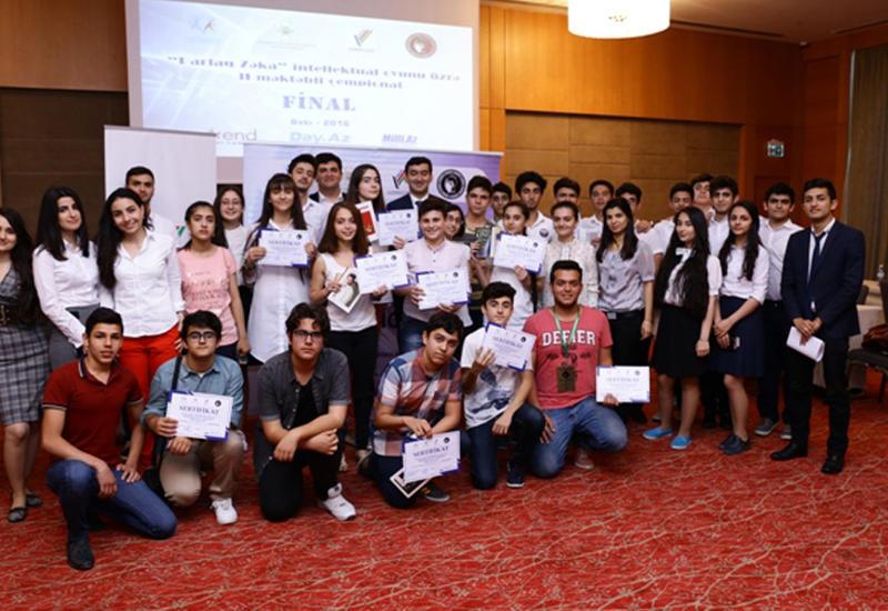 """В Азербайджане определились самые сильные юные знатоки <span class=""""color_red"""">- ФОТО</span>"""