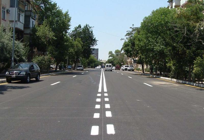 """Отремонтирована одна из центральных улиц Баку <span class=""""color_red"""">- ФОТО - ВИДЕО</span>"""