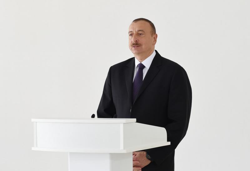 Президент Ильхам Алиев: Строительство армии в Азербайджане проводится целенаправленно и планомерно