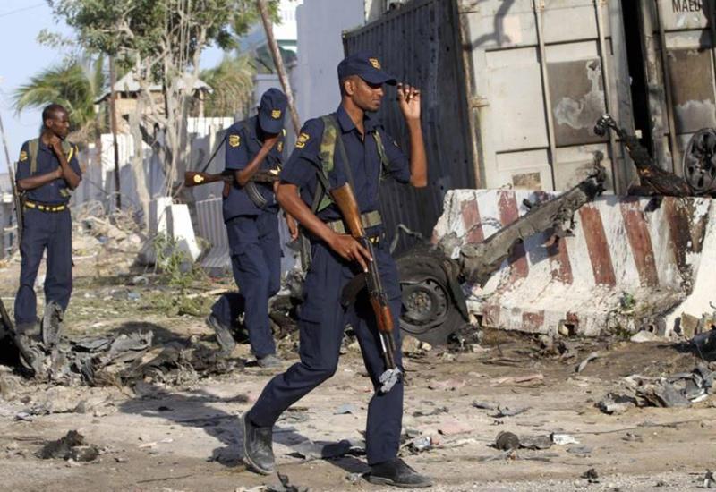 Сильный взрыв в столице Сомали