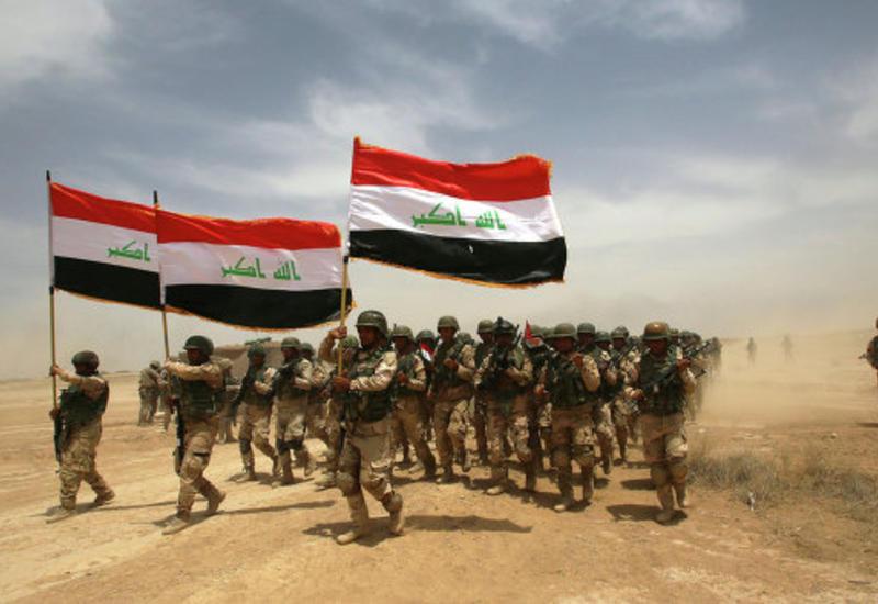 Премьер Ирака поднял флаг страны в освобожденной Эль-Фаллудже