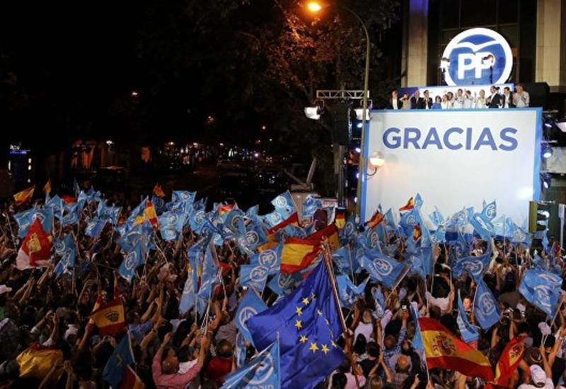 Рахой: Народная партия Испании выиграла выборы и намерена остаться у власти