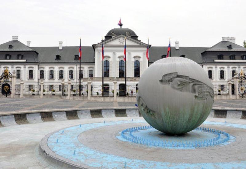 Во дворец президента Словакии ночью проник неизвестный