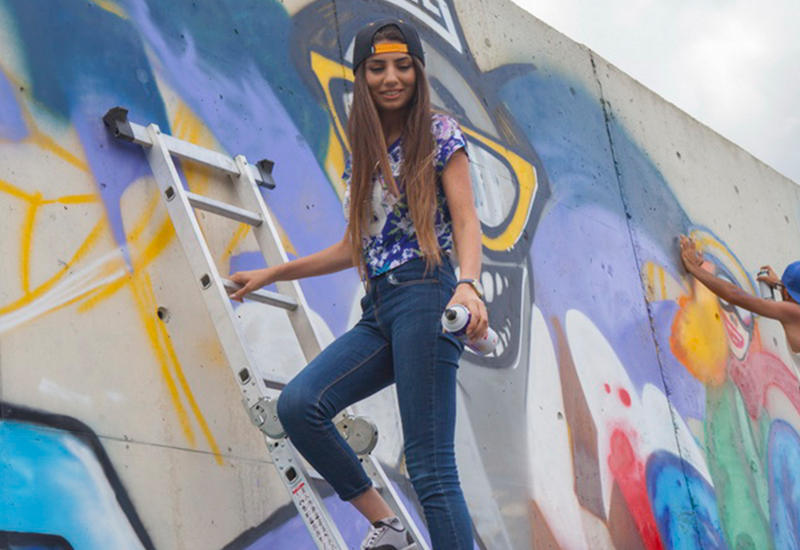 """Необычный фестиваль граффити на Шахдаге <span class=""""color_red""""> - ФОТОСЕССИЯ</span>"""