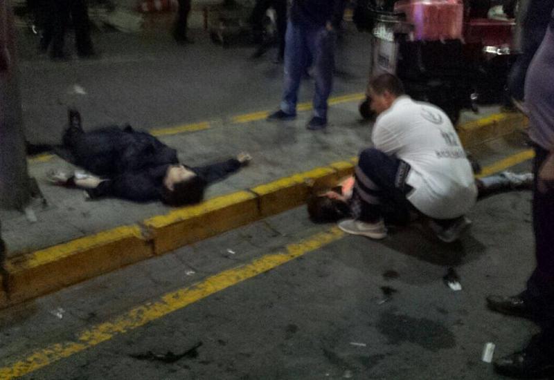 "Момент взрыва в аэропорту Стамбула <span class=""color_red"">- ВИДЕО</span>"