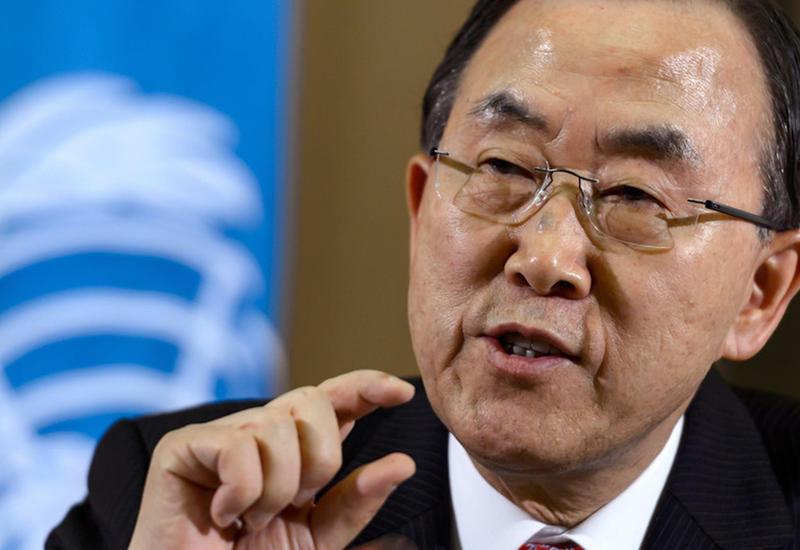 Генсек ООН посетил сектор Газа