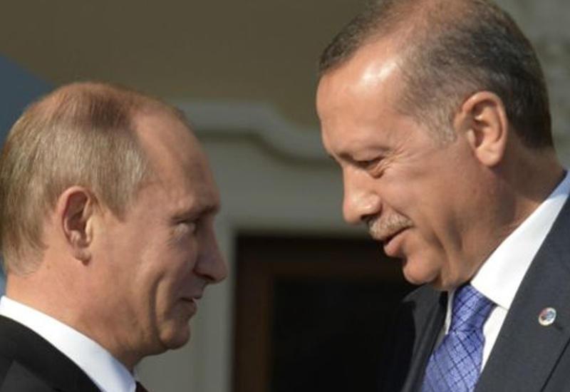 Эрдоган пригласит Путина на футбольный матч