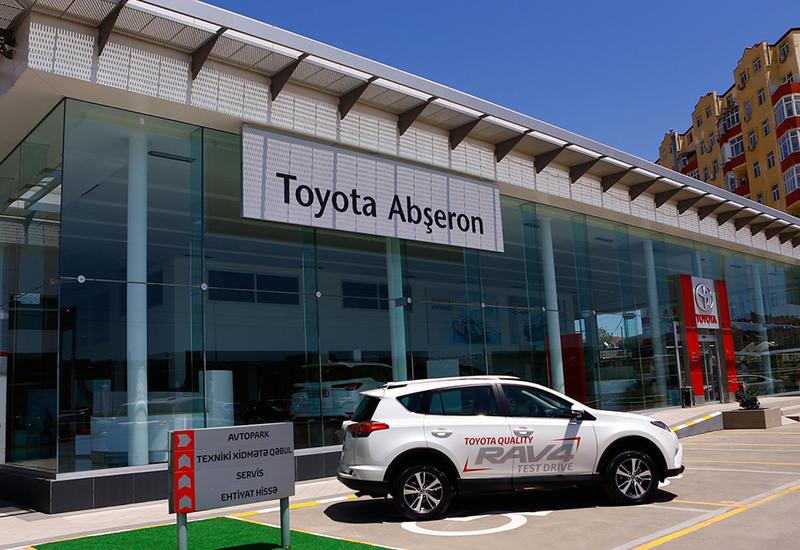 """Новый официальный дилерский центр Toyota Абшерон начал свою деятельность в Баку <span class=""""color_red"""">- ФОТО - ВИДЕО</span>"""