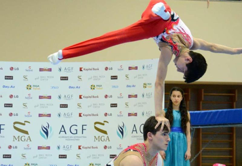 Азербайджанские акробаты завоевали медали на турнире в Казахстане