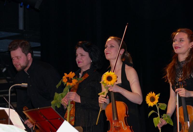 """Мастер-класс Франгиз Ализаде в Берлине завершился грандиозным концертом <span class=""""color_red"""">- ФОТО</span>"""