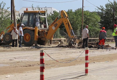 В Азербайджане ремонтируется одна из региональных автодорог