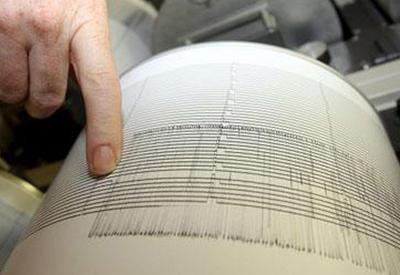 Сильное землетрясение в Грузии