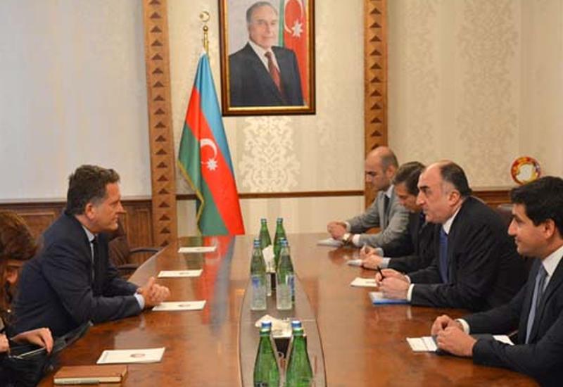 Эльмар Мамедъяров на встрече с послом Турции в Азербайджане