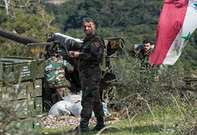 """Сирийская армия отбила нападение боевиков в Латакии <span class=""""color_red"""">- ВИДЕО</span>"""