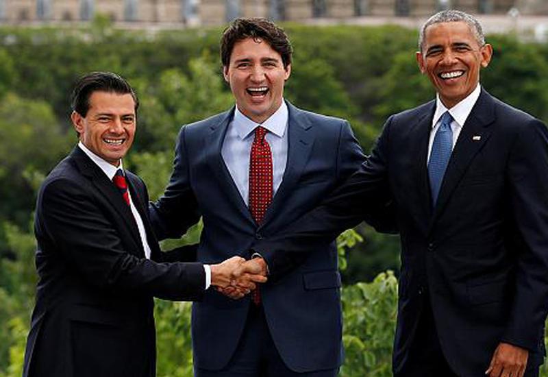 "Канада, Мексика и США договорились ""почистить"" энергетику <span class=""color_red"">- ВИДЕО</span>"