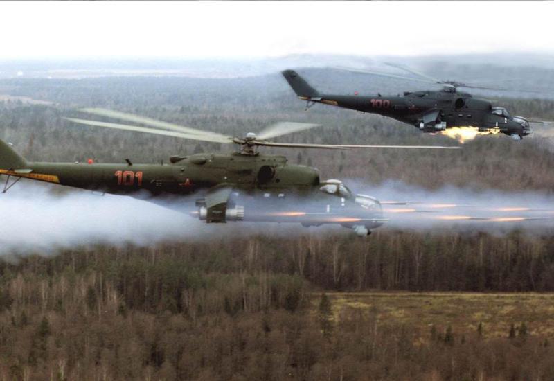 """Иракские военные показали уничтожение колонны """"ИГ"""" российскими вертолетами <span class=""""color_red"""">- ВИДЕО</span>"""