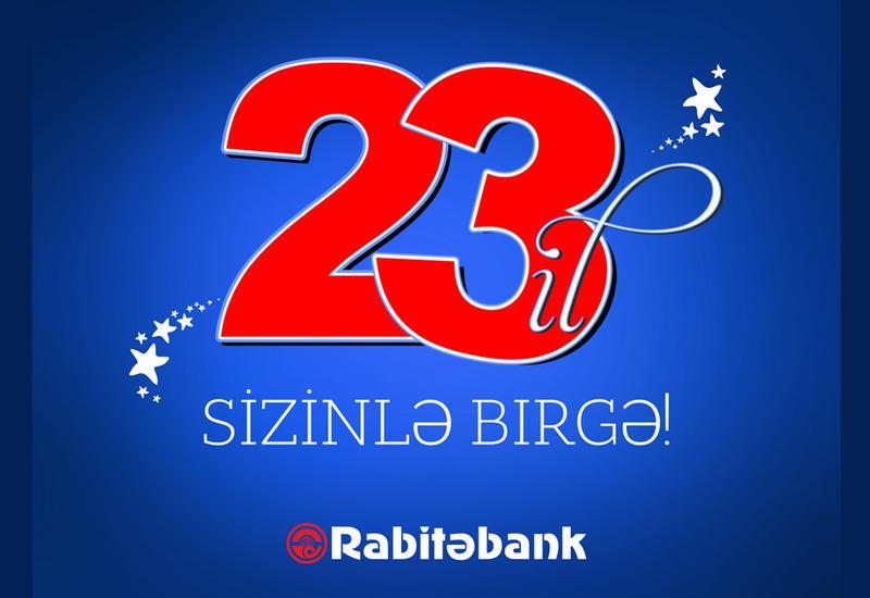 Rabitəbank ASC fəaliyyətinin 23 illiyini qeyd edir