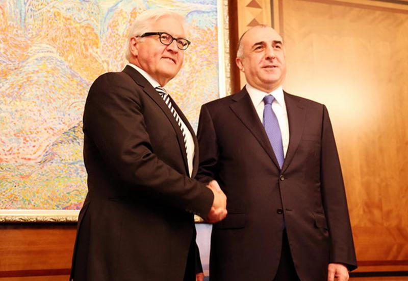 "Штайнмайер прибыл в Баку на переговоры <span class=""color_red"">- ФОТО</span>"