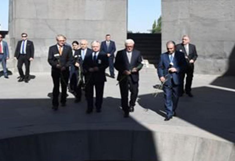 """Армяне не дождались от Штайнмайера слова """"геноцид"""""""