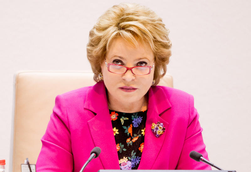 Матвиенко едет в Иран