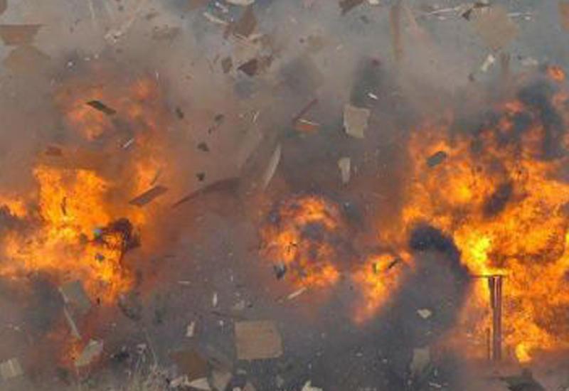 Сильный взрыв на заводе Coca-Cola в Москве
