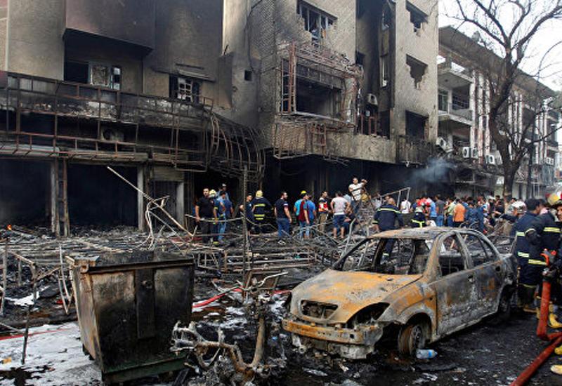 Теракт в Багдаде, есть погибшие и пострадавшие