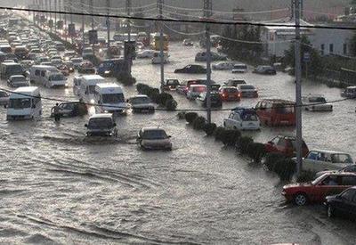 Масштабное наводнение в Грузии