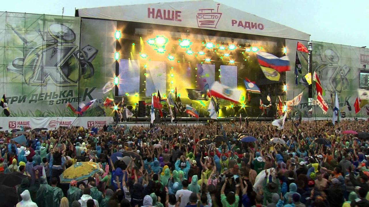 На фестивале 'Нашествие' пострадали более 1 тыс человек
