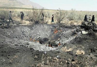 В Иране разбился бомбардировщик