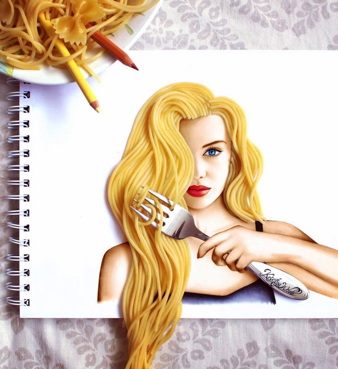 Рисуем девушку настоящую