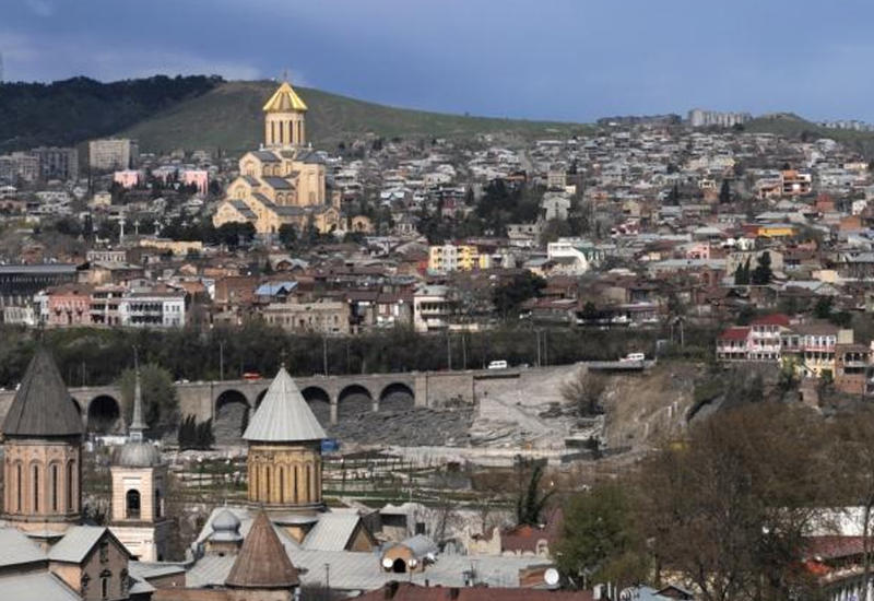Антитурецкие погромы в центре Тбилиси