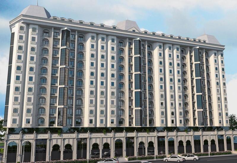 "Здание, которое снесут и заново построят в Баку <span class=""color_red"">- ФОТО</span>"