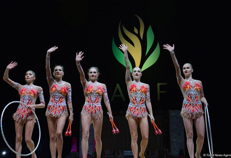 Азербайджанские гимнастки: Выступать на родной арене ответственно, но помогала поддержка публики