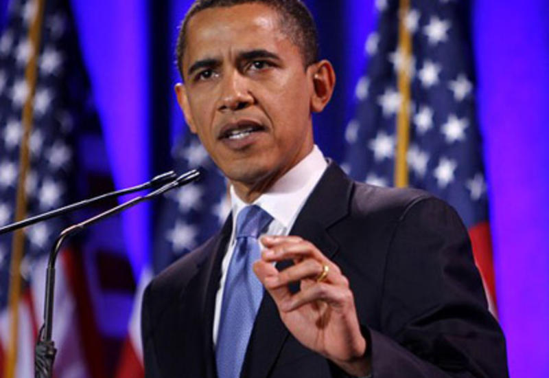 Обама спел Jingle Bells возле елки в Вашингтоне