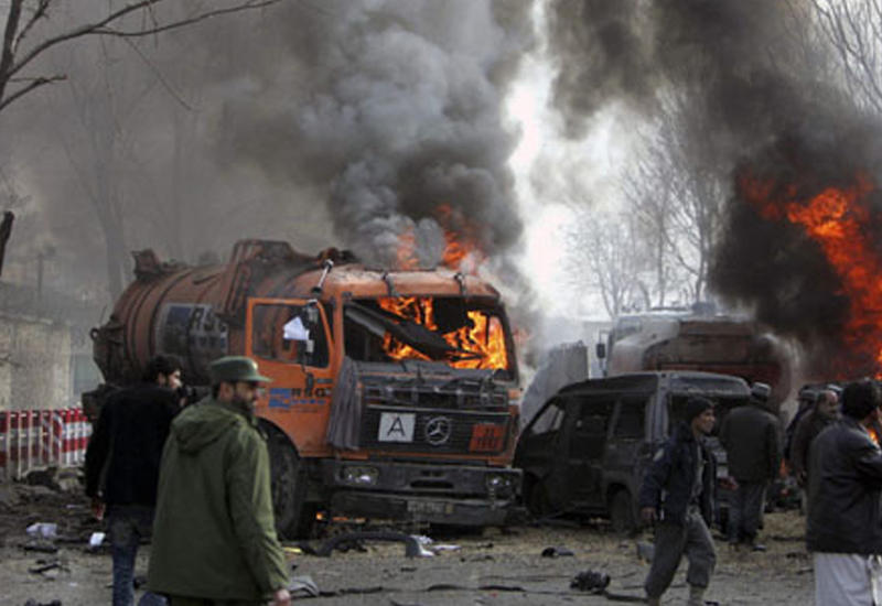 Мощный взрыв в Кабуле, есть пострадавшие