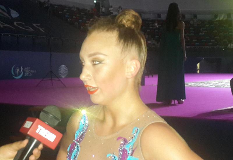 Канадская гимнастка: Национальная арена гимнастки в Баку построена на высшем уровне