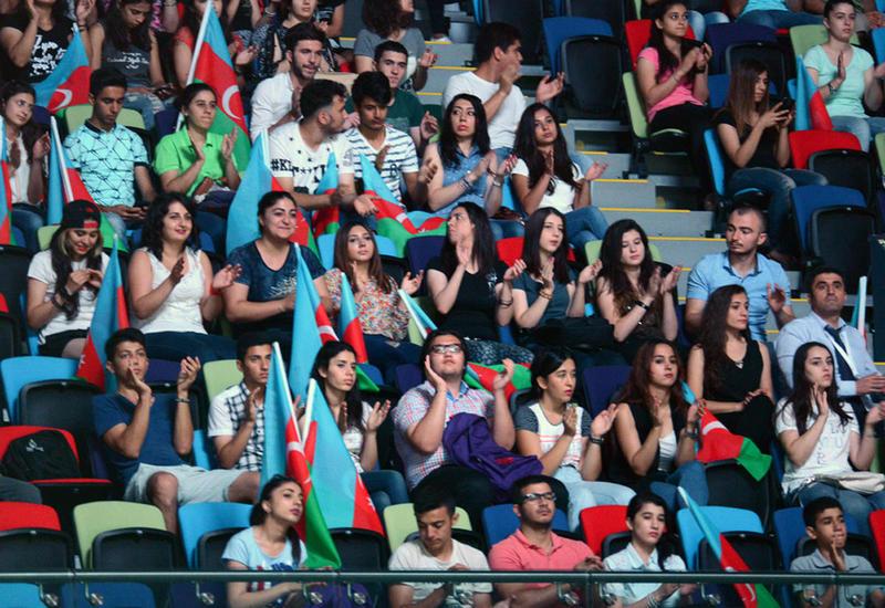 Американская гимнастка: В Баку отличные зрители