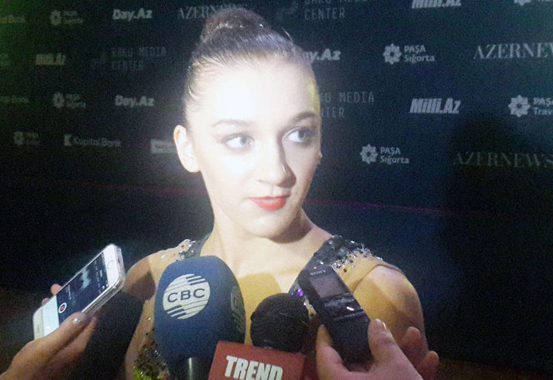 Финская гимнастка: Соревнования Кубка мира в Баку организованы на высоком уровне