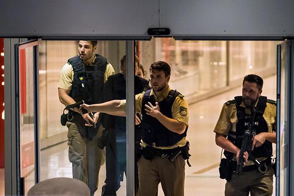 Количество жертв стрельбы вМюнхене возросло до 9-ти человек