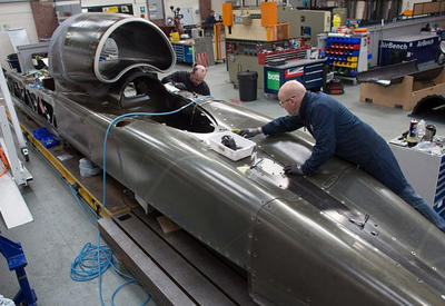 "Суперкар Bloodhound готов установить новый рекорд скорости <span class=""color_red"">- ВИДЕО</span>"
