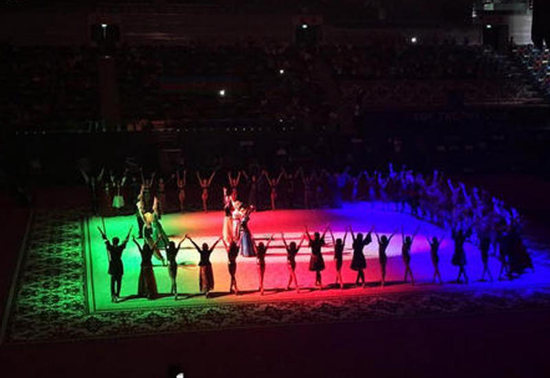"Праздник гимнастики в Баку глазами зрителей <span class=""color_red"">- ФОТО</span>"
