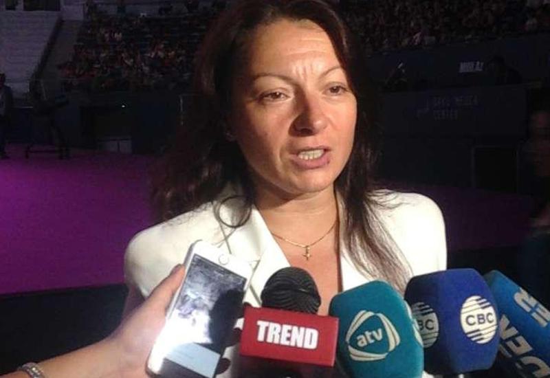 Мариана Василева довольна выступлениями азербайджанских спортсменок