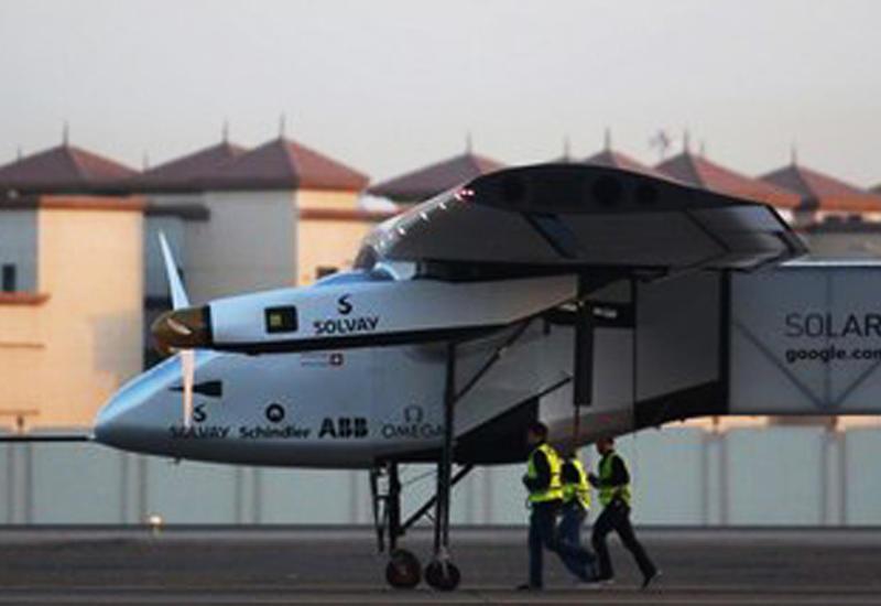 Самолет на солнечной энергии завершает кругосветное путешествие