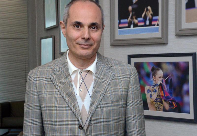 Эльчин Гасанов: На Кубке мира по художественной гимнастике ярко выражен национальный колорит