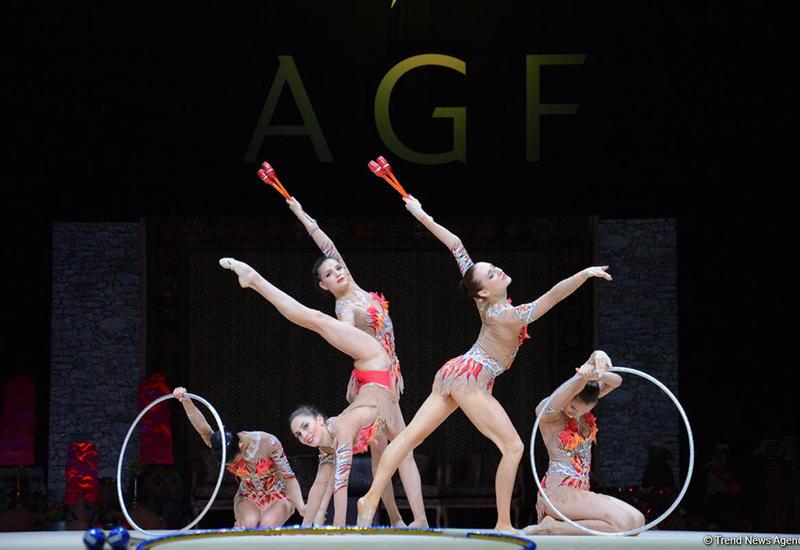В Баку стартовал последний день соревнований финала Кубка мира по художественной гимнастике
