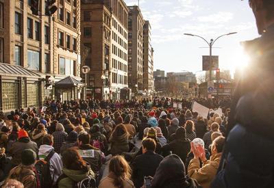 В Бостоне тысячи человек требуют выдать Гюлена Турции