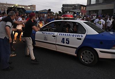 """Участники акции в Ереване начали шествие <span class=""""color_red"""">- ФОТО</span>"""