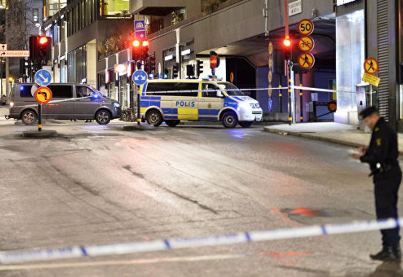Стрельба в шведском торговом центре: ранен человек